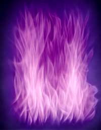 The Violet Flame: what the violet flame does, how it works